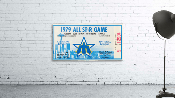 1979 Major League All-Star Game Seattle