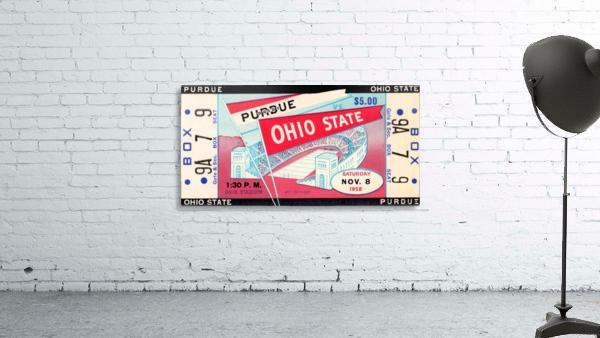 1958_College_Football_Purdue vs. Ohio State_Ohio Stadium_Row One Brand