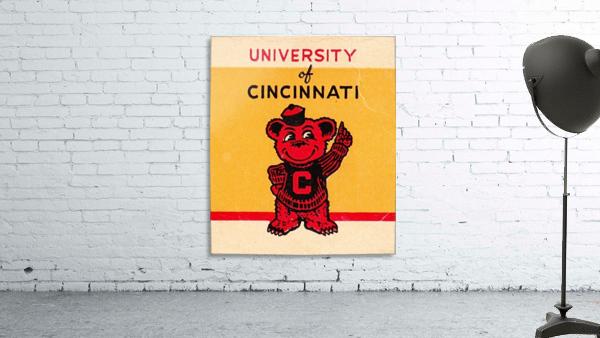 Vintage University of Cincinnati Art Reproduction