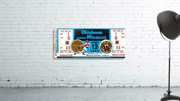 1965_College_Football_Oklahoma vs. Missouri_Memorial Stadium_Columbia_Row One