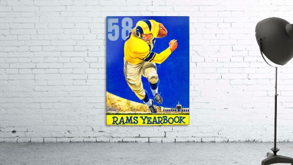 1958_National Football League_Los Angeles Rams_Yearbook_Row One