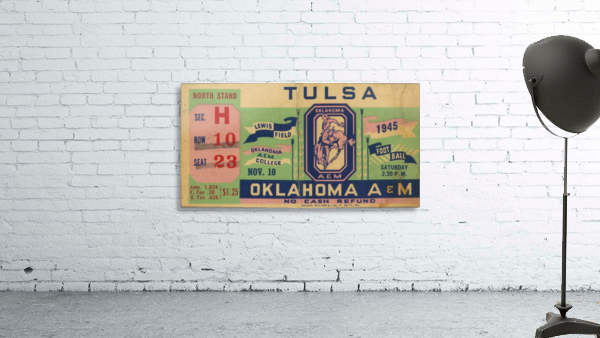 1945 Oklahoma A&M vs. Tulsa