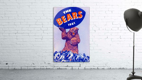1961_National Football League_Chicago Bears_Row One Brand