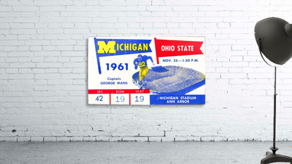 1961_College_Football_Ohio State vs. Michigan_Michigan Stadium_Ann Arbor_Row One Brand