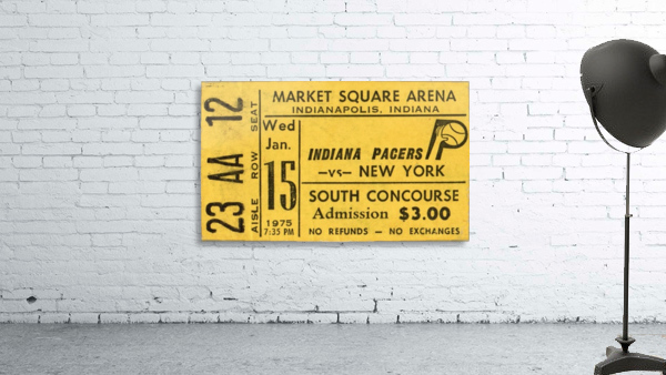 1975_American Basketball Association_New York Nets vs. Indiana Pacers_Market Square Arena_Row One