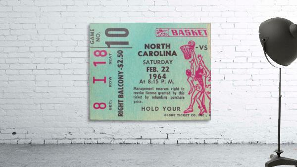 1964 College Basketball North Carolina vs. North Carolina State
