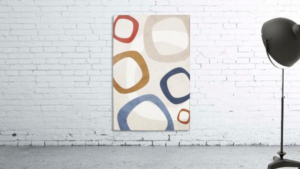 Shapes 08 - Abstract Geometric Art Print