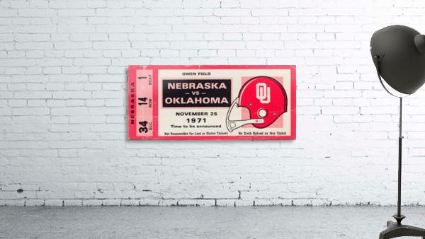 1971 Game of the Century Nebraska vs. Oklahoma