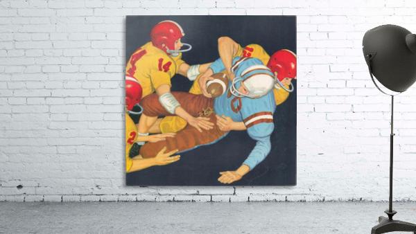 Classic Vintage Football Art