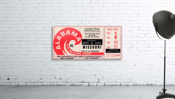 1975 College Football Ticket Collection_Alabama vs. Missouri_College Ticket Stub Art (1)