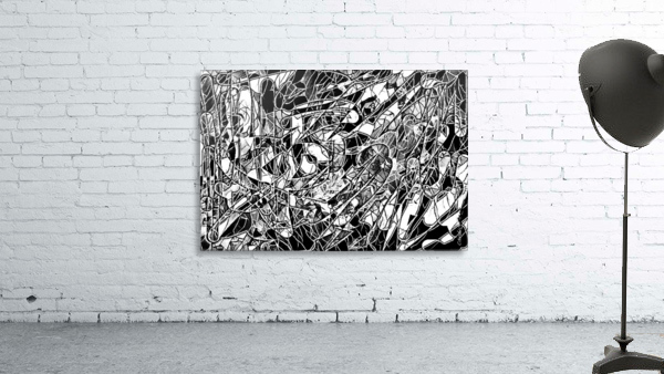 Black & White Art Threshold Light Texture