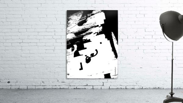 Black & White Form Texture Art D3200 1267