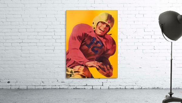 Vintage Football Poster_Football Prints Wall Art Posters