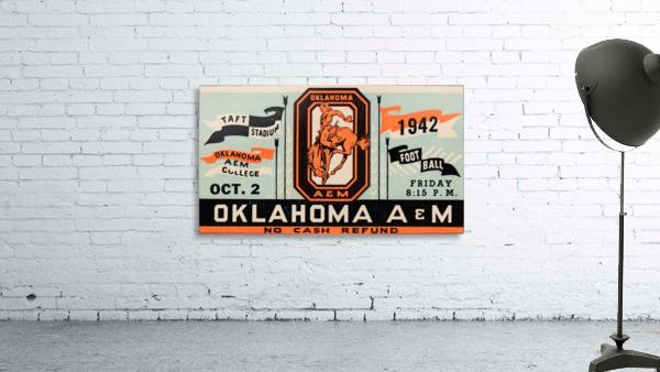 Vintage Oklahoma A&M Art