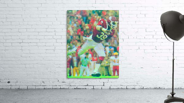 All American Kevin Murphy 39 Defensive End Oklahoma Football Art_OU Sooners Wall Art