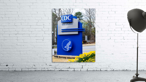 Centers for Disease Control CDC Sign   Atlanta GA 02775