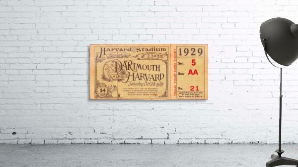 1929 Dartmouth vs. Harvard