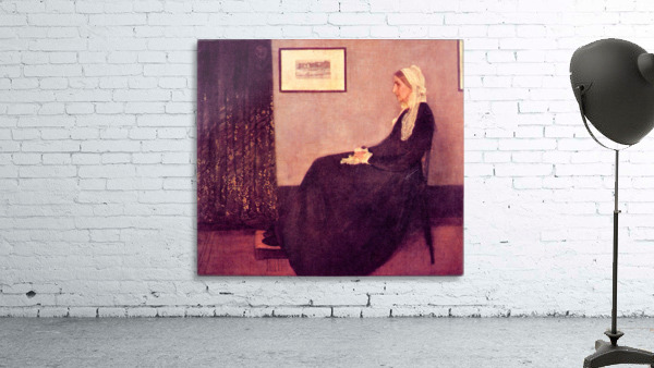 Whistlers Mother by James Abbot McNeill Whistler
