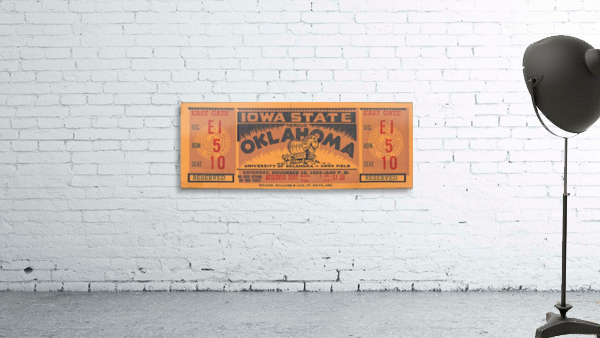 1934 Iowa State vs. Oklahoma