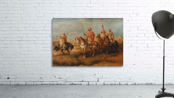 Bedouins on Horseback