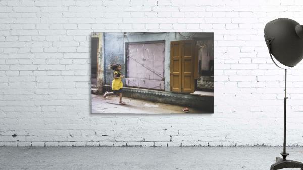 Varanasi Window - The girl