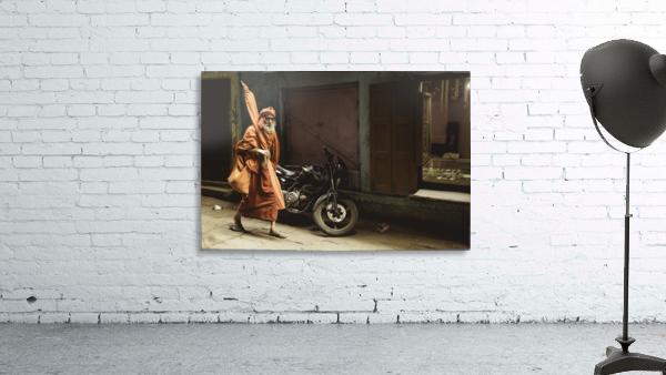 Varanasi Window - Pilgrim