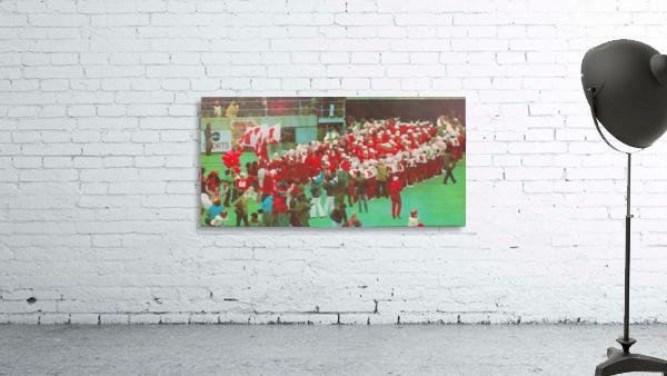 nebraska football art vintage college poster