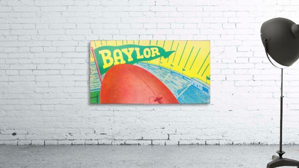 Baylor Bears Football Pennant Poster (1935)