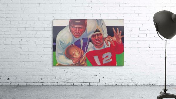 Vintage Football Fine Art Prints_ Old Football Art Poster