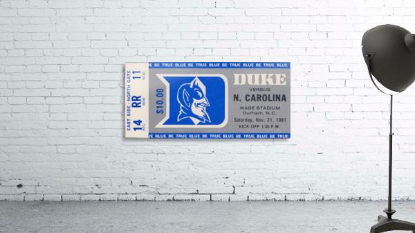 1981 Duke vs. North Carolina