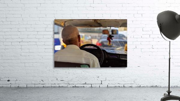 Taxi driver in Cuba