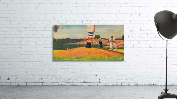 The Mound_Vintage Red Sox Baseball Art_Row One Brand