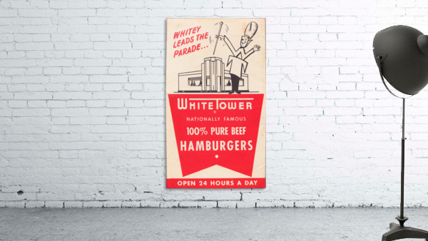 white tower hamburger ad