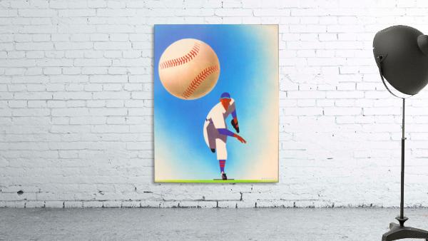 Baseball Pitcher Art