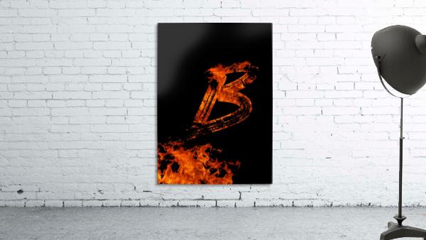 Burning on Fire Letter B