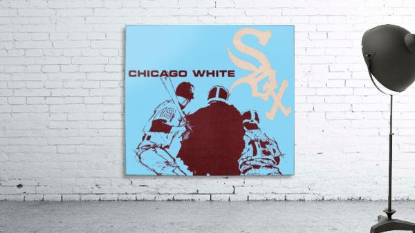 Chicago White Sox Baseball Poster Fine Art
