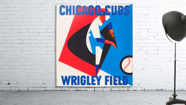 Retro_Remix_Sports_Program_Scorecard_Posters_Row_One_Chicago_Cubs