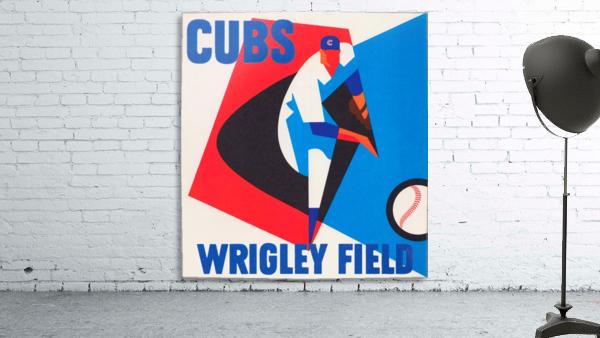 Cubs Wrigley Field Art