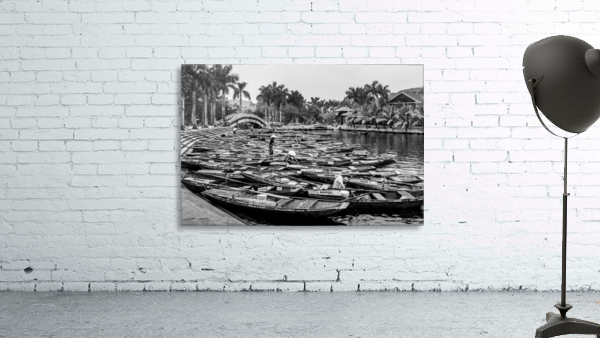Boats in the river of Vietnam
