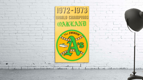 1972 Oakland Athletics World Champions