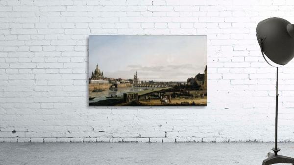 Dresden vom rechten Elbufer