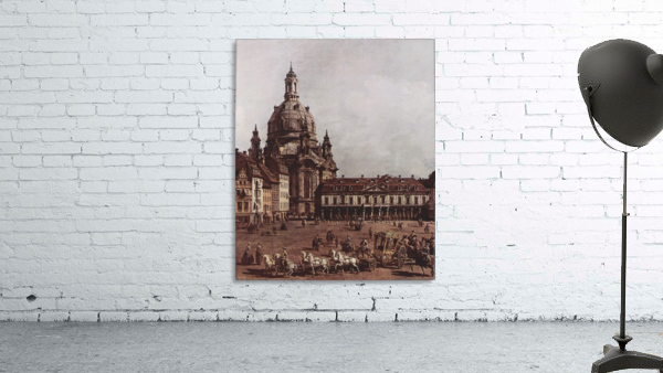 Der Neumarkt in Dresden