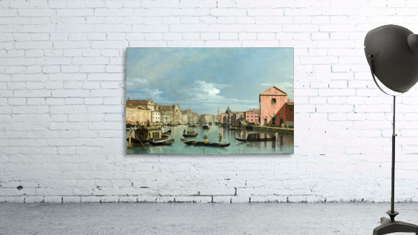 The Grand Canal facing Santa Croce