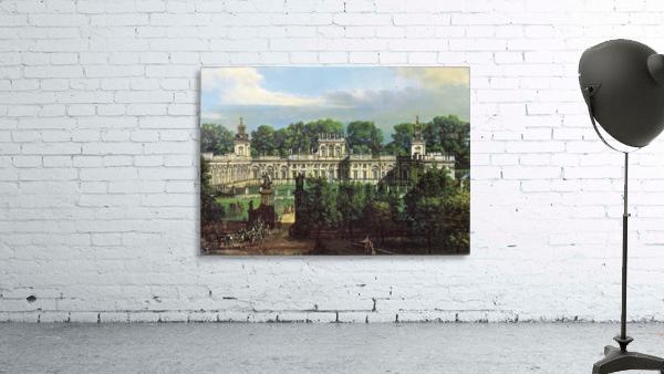 View of Palace in Warszawa