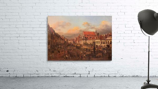 Die Altstadt wurde nach dem Krieg nach alten