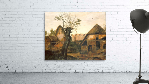 Landscape with Farmhouse