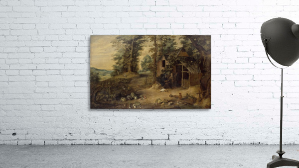 Landscape with Homestead