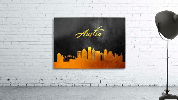 Austin Texas Skyline Wall Art