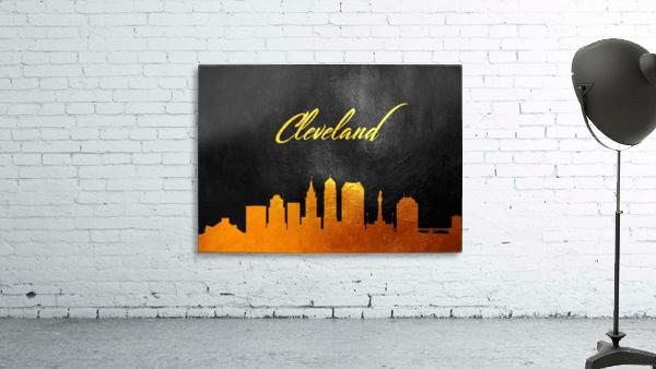 Cleveland Ohio Skyline Wall Art