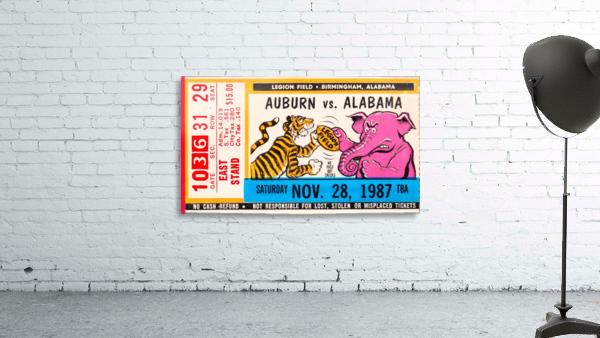 1987 Alabama vs. Auburn